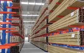中永定做仓储货架厂家:货架如何防锈除锈