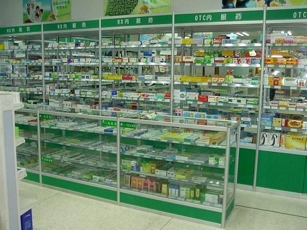 铝合金药房展示柜