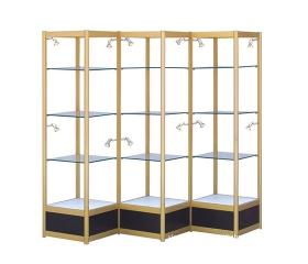 温州铝合金展示柜